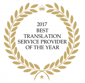 The Best Language Service Provider of the Year